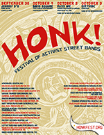 HONK! Festival Flyer 2011