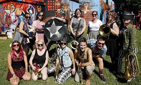 Yes Ma'am Brass Band