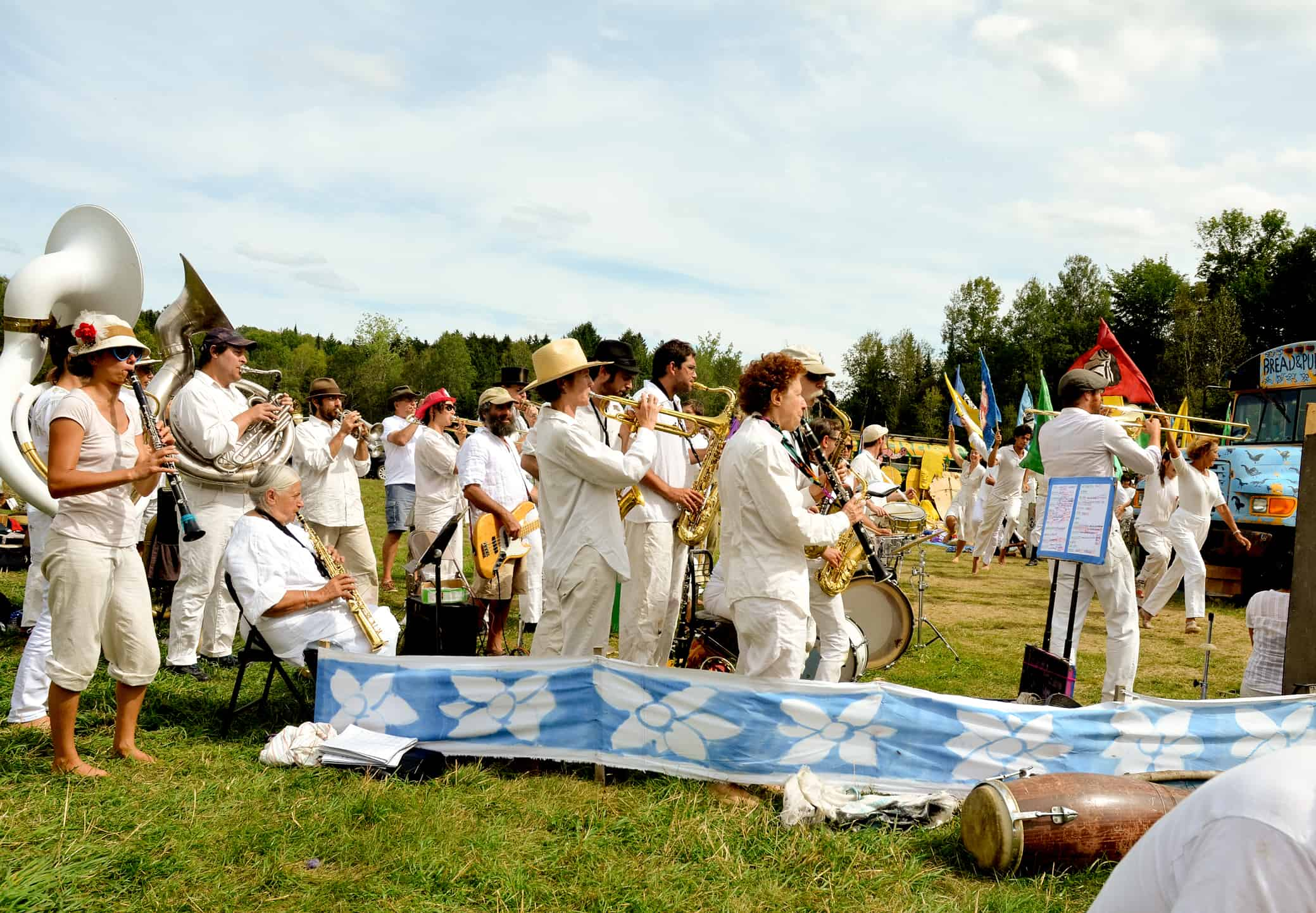 Bread and Puppet Circus Band